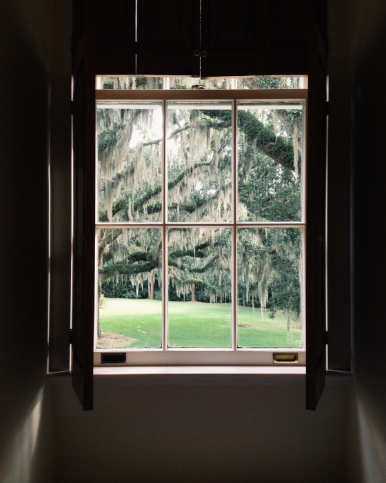 View from the Marsh House | for the love of the south