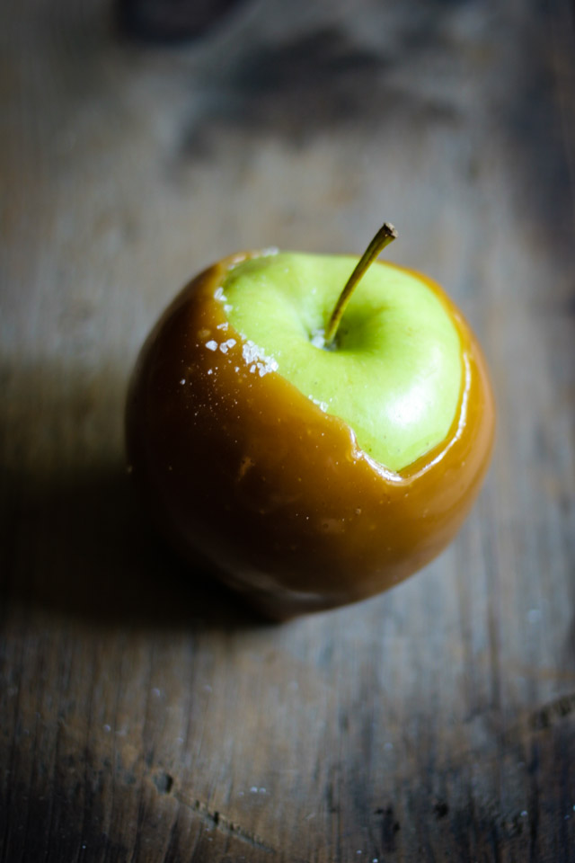 Single Salted Caramel Apple | for the love of the south