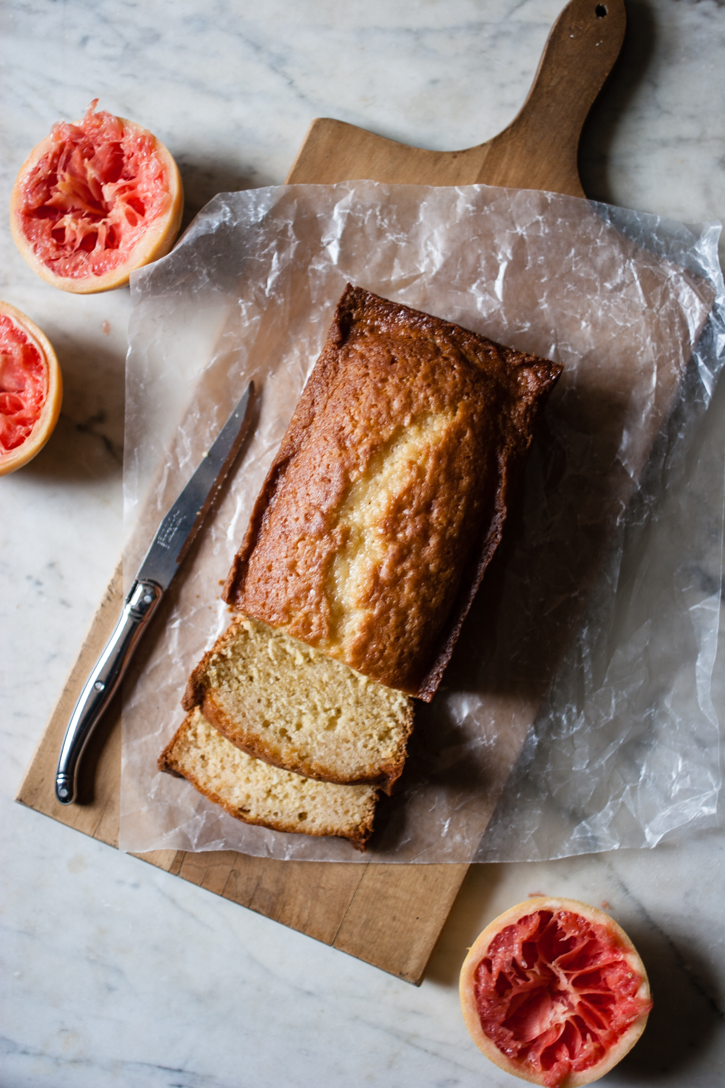Grapefruit + Raw Cane Sugar + Olive Oil Pound Cake | for the love of ...