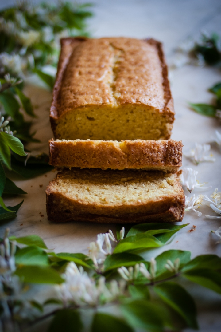 Honeysuckle Pound Cake   for the love of the south