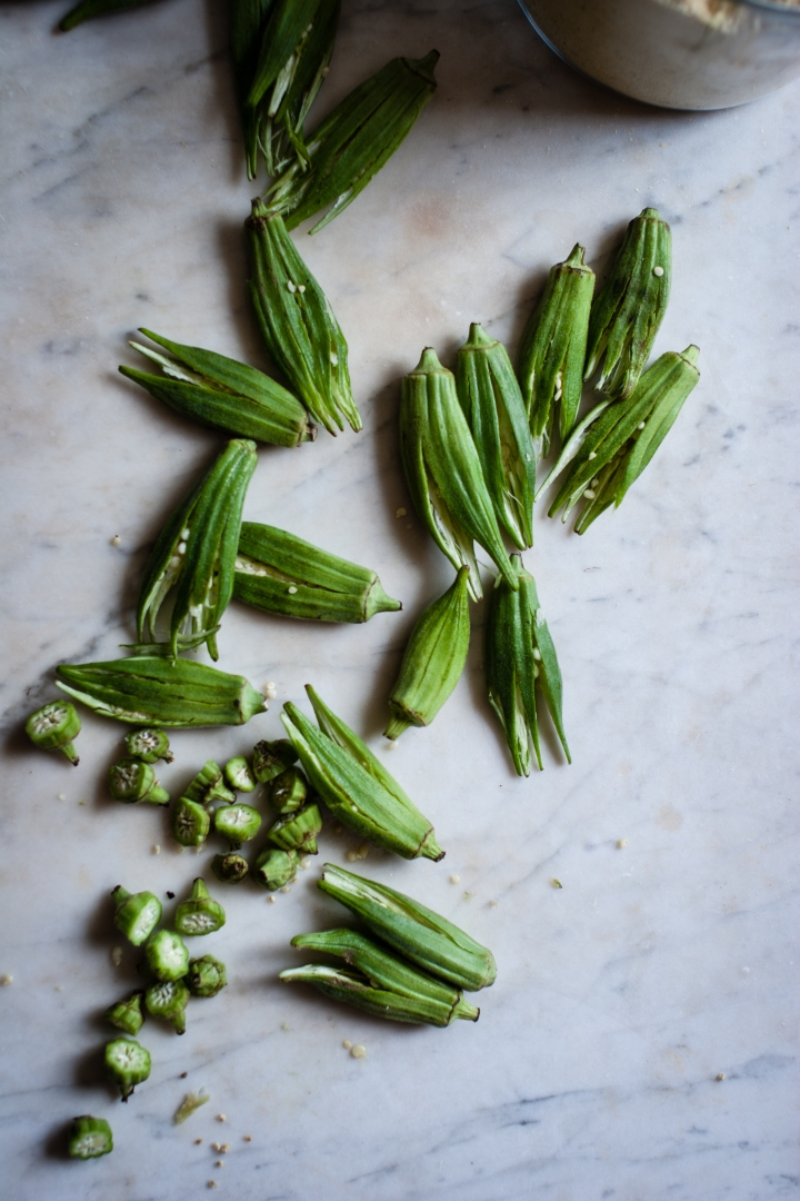 Smashed Okra | for the love of the south