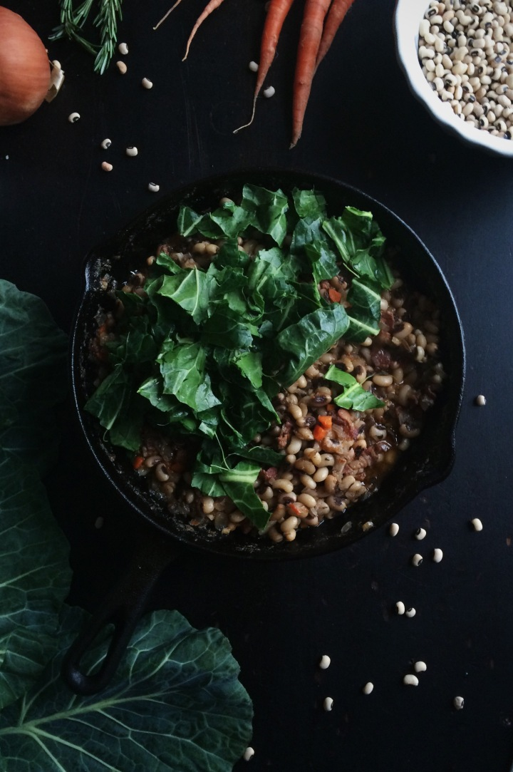 Black-Eyed Pea Cassoulet   for the love of the south