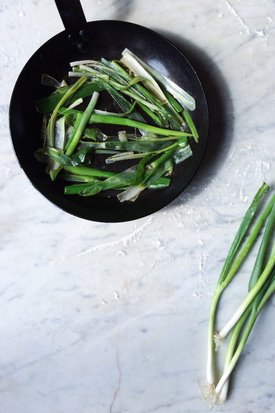 Sautéed Spring Onions | for the love of the south
