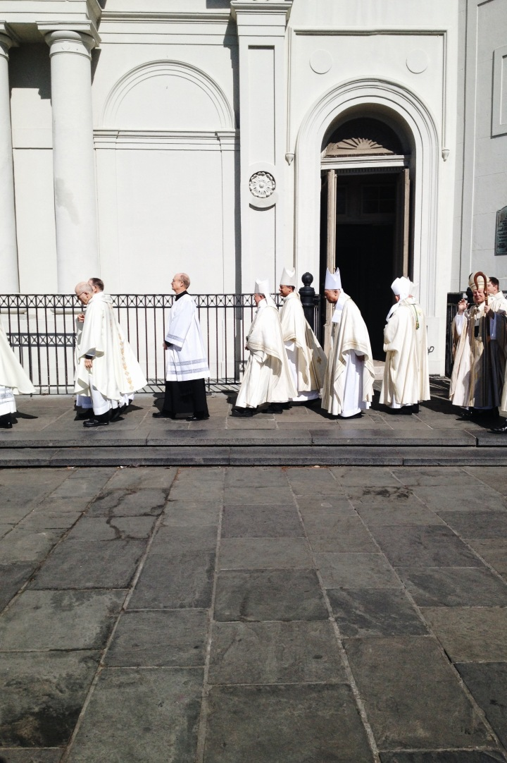 Outside St. Louis Cathedral | for the love of the south