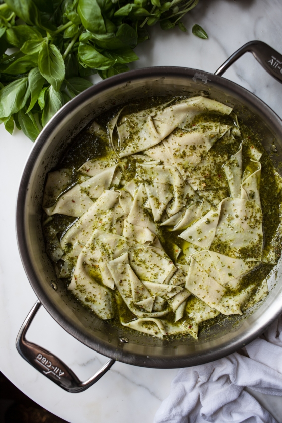Basil Pesto Pasta | for the love of the south
