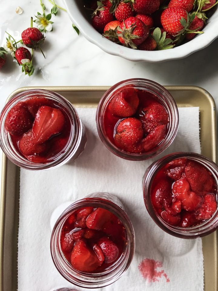 Strawberry Preserves | for the love of the south