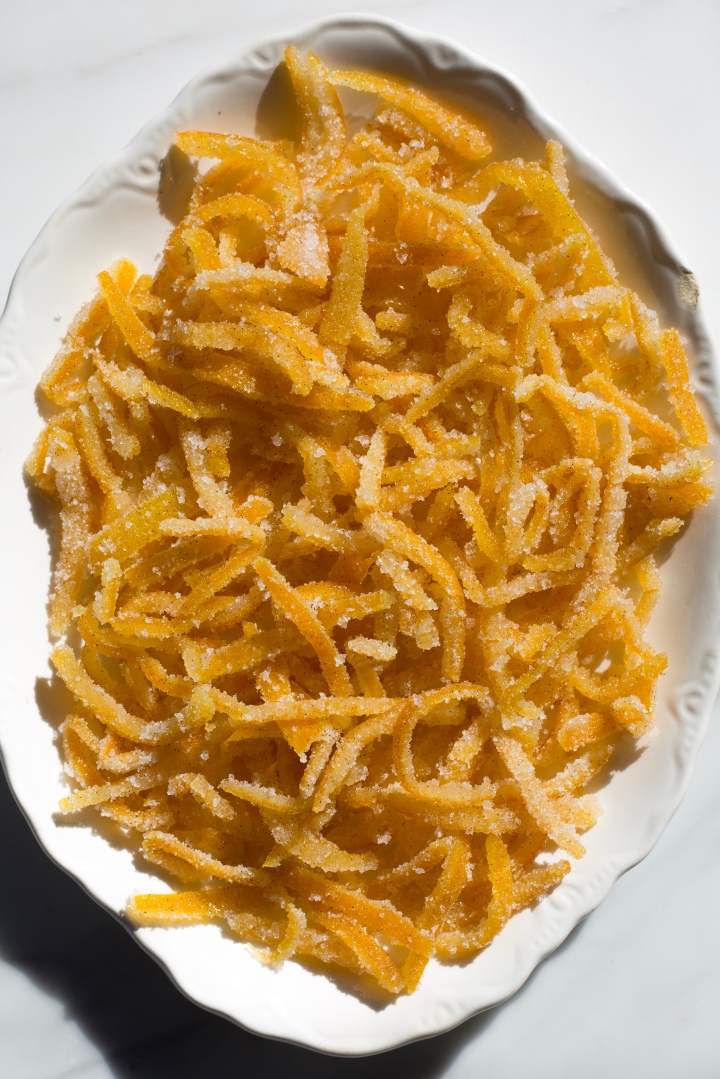 Sweet & Sour Satsuma Candied Peels | for the love of the south
