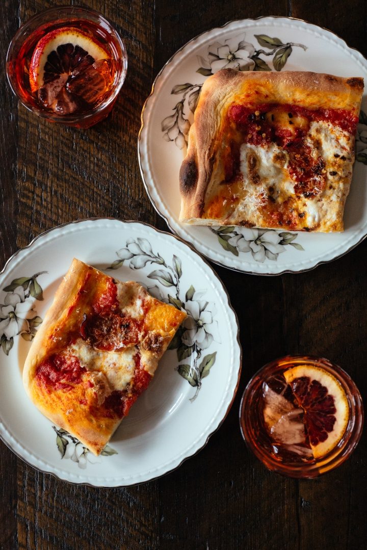 Spicy Salami Pan Pizza | for the love of the south