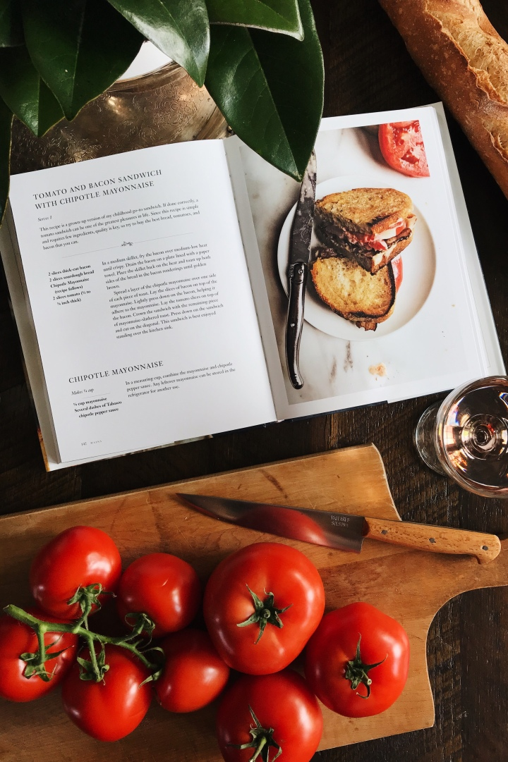 Tomato Bacon Sandwich from Cookbook | for the love of the south